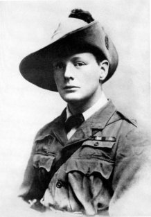 Churchill da giovane