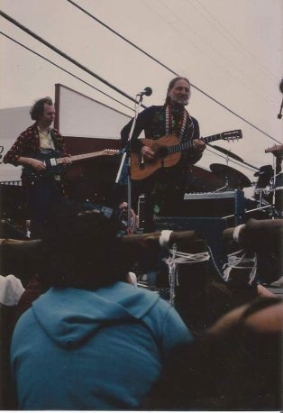 Willie Nelson, Maui 1987