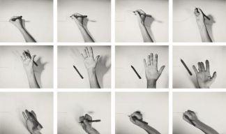 Helena Almeida - Inhabited Drawing (1976)