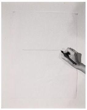 Helena Almeida - Inhabited Drawing (1977)