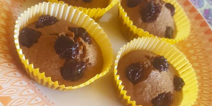 Cupcake integral de chocolate
