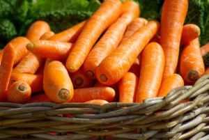 Carrots and fiber