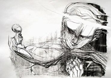 Perto e Longe - Litografia