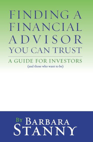 Finding A Financial Advisor You Can Trust Book By Barbara Stanny