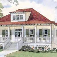 House Plan Thursday: Bermuda Bluff... Ooooh, bring on the sea breeze!