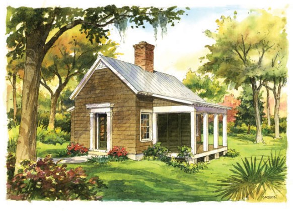 House Plan Thursday  Southern Living Plan of the Month     Garden     HousePlan GardenCottage SL1830 SL