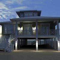 House Plan: Low Country Beach House - Plan W44091TD by Architectural Designs