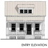 House Plan: Guest Cottage (TNH-GC-02A) Also known as Katrina Cottage KC697!