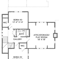 House Plan: TNH-LC-10A by Moser Design Group!
