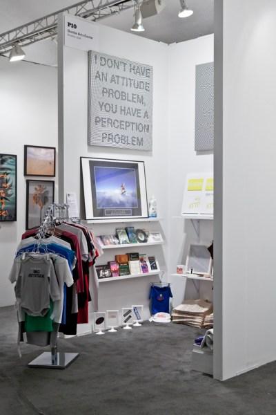 I ♥ My Attitude Collection: The Store, NADA Art Fair, Miami Beach, 2011, Installation View