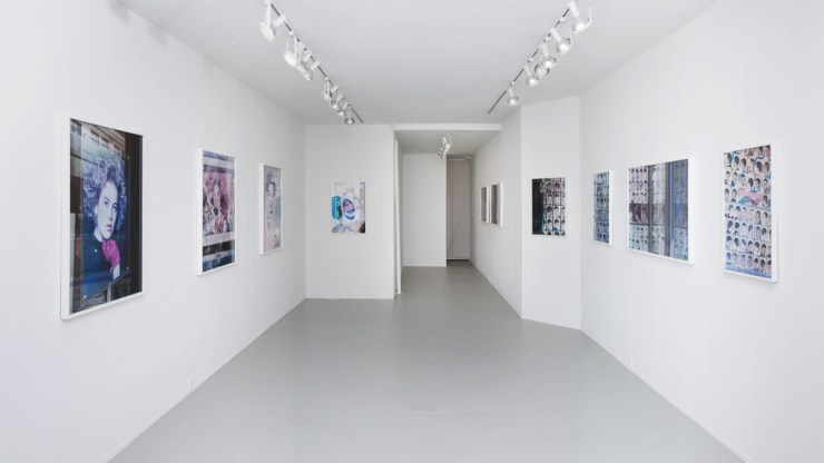 Fade Diary, installation view, Rachel Uffner Gallery,New York, NY, 2012