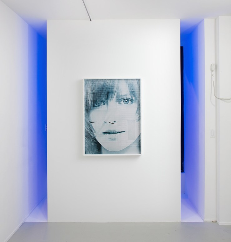 Fade Diary, installation view, Rachel Uffner Gallery, New York, NY, 2012