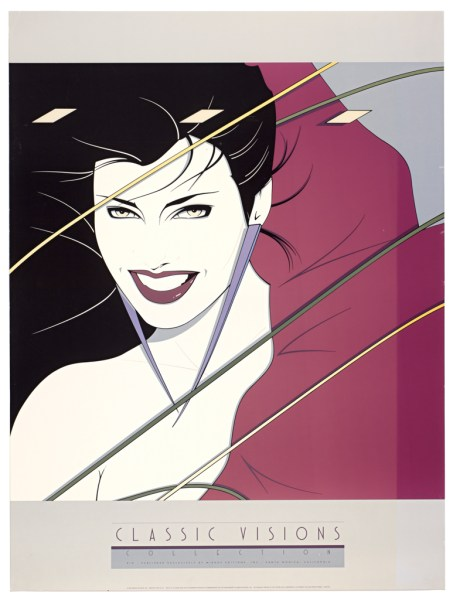 Patrick Nagel, Rio, Fine Art Poster, UV Exposure Time Two Weeks #1, 2009, digital c-print, 24 x 32 inches, 61 x 81 cm
