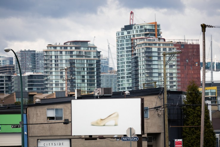 Campain, 2017, Outdoor Billboard, Dimesions Variable.  Capture Photo Festival, Vancouver, Canada.