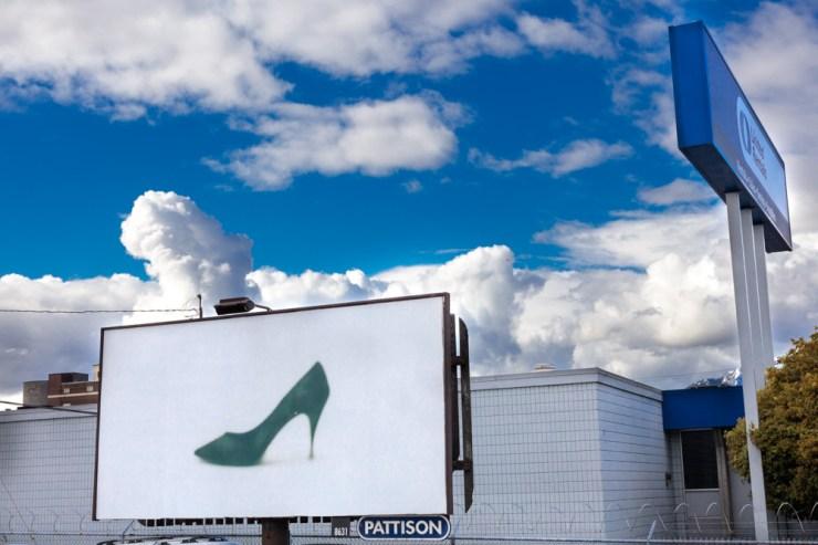 Vintage Shoe Campaign, Division of Vintage, 2017, Outdoor Billboards, Vancouver, Canada.
