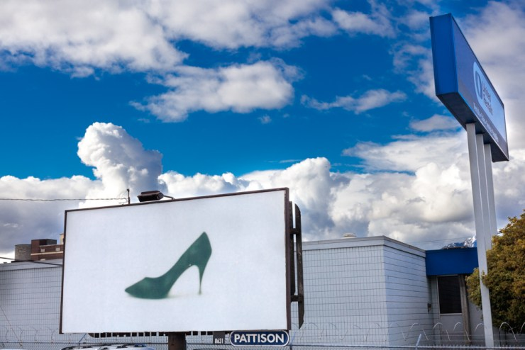 Campain, 2017, Outdoor Billboard, Dimesions Variable.  Capture Photo Festival, Vancouver, Canada.