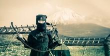 A Young Ninja at Mt. Fuji
