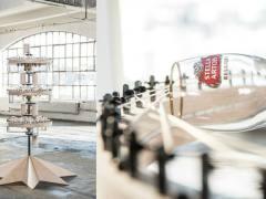 Copos de Stella Artois viram instrumentos musicais: projeto, chamado The Chalice Symphony, envolveu a banda Cold War Kids