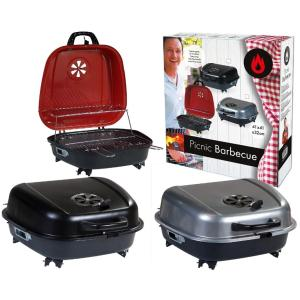 BBQ Barbecue Koffer 41x42cm ROOD