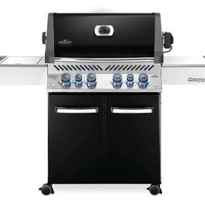 MEGASTUNT Napoleon Prestige P500 Zwart gasbarbecue - incl. 6 branders - nu VOOR € 2.199,-