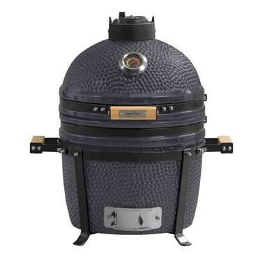 "Patton barbecue Kamado Grill 15"" - grijs"" - Leen Bakker"