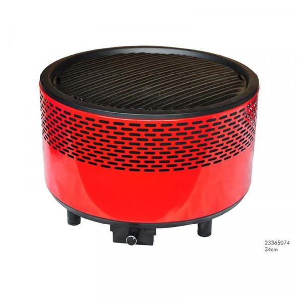 Tafel BBQ voor houtskool rookvrij 34 cm