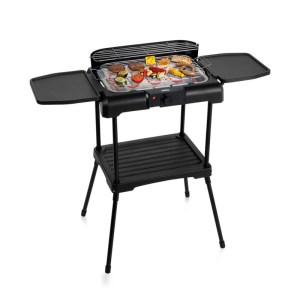 112250 Elektrische BBQ met zijtafels