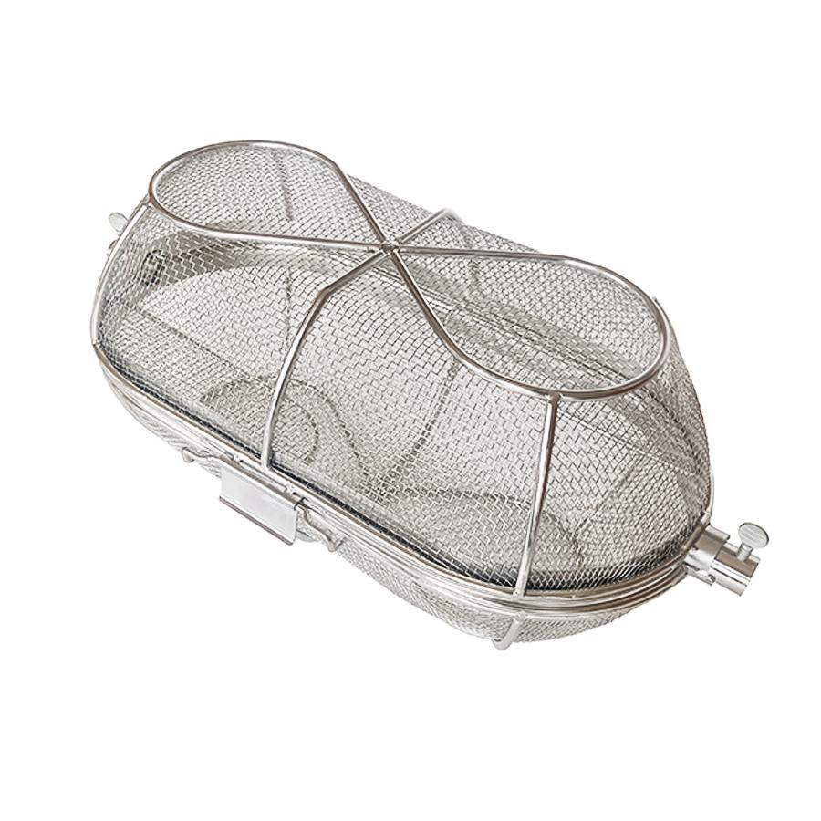 BBQNovation Rotisserie mandje volledig gefabriceerd uit RVS
