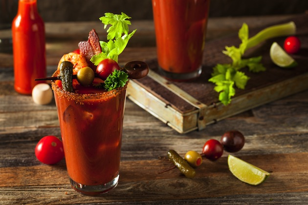 Epic Smoked Bloody Marys For Your New Year's Brunch