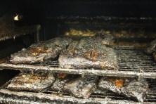 Closeup of briskets