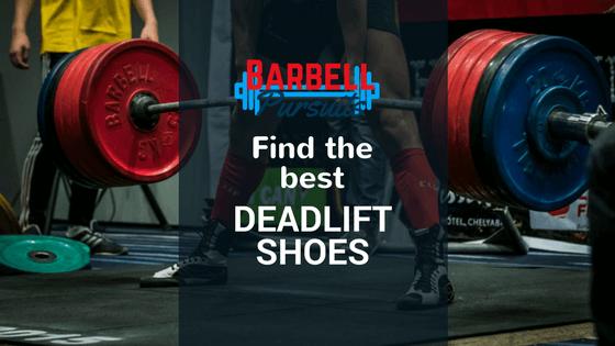 powerlifter in good deadlift shoes