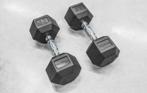 hex dumbbells for a home gym