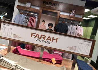 Farah Vintage at House of Fraser
