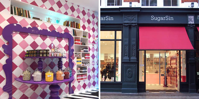SugarSin London retail design