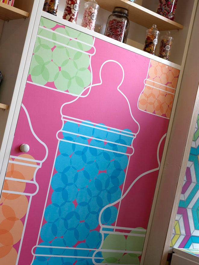 sweet jar interior pattern
