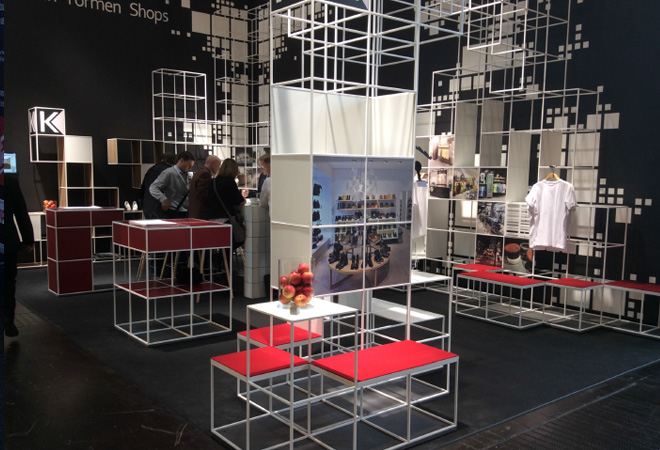 Display units on display at Euroshop