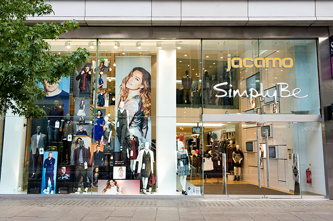 Simply Be and Jacamo store in Oxford Street