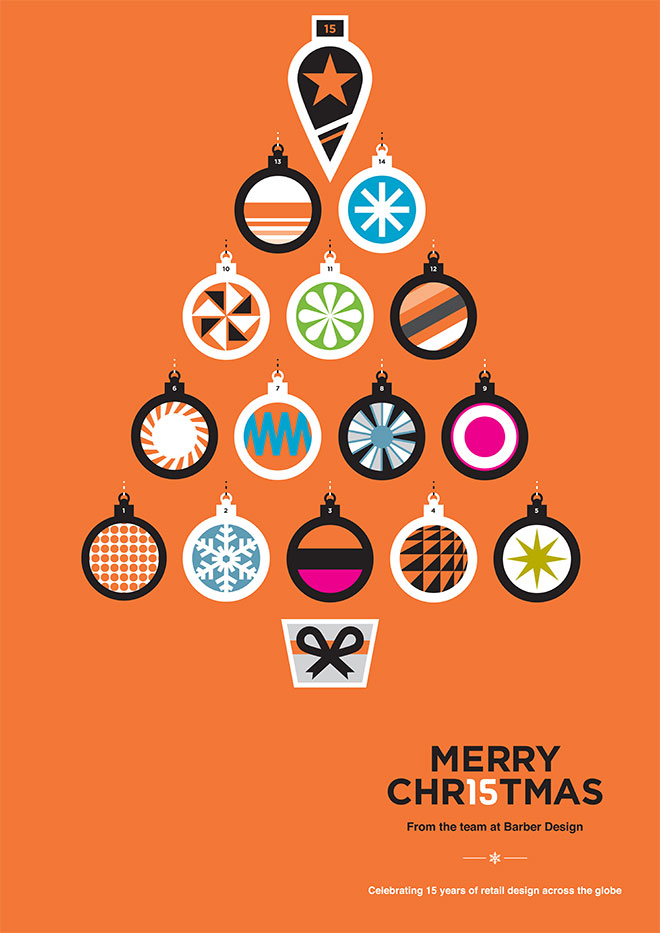 Merry Christmas from Barber Design