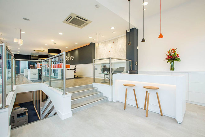 Aspire estate agent interior design