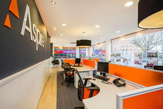Aspire estate agent interior design