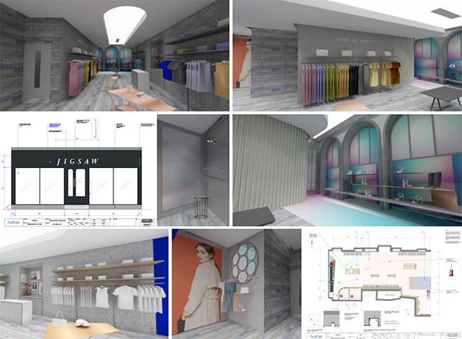 Store concept designs