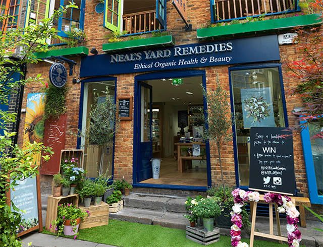 Our design for the Neal's Yard flagship in Covent garden has been shortlisted for an award