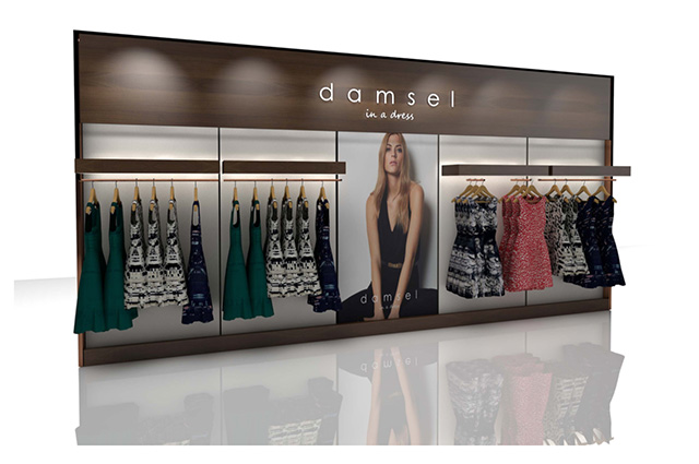 Damsel in a Dress store concept