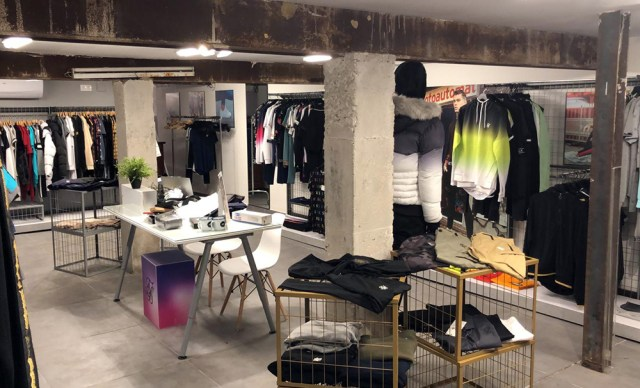 Sik Silk showroom in Barcelona