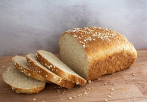 Hearty White Oat Loaf