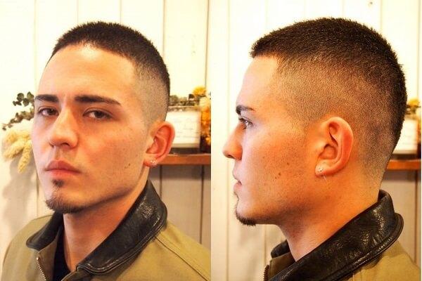 40代のボウズはトップがポイント!ボウズ系髪型を画像で詳しく解説