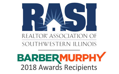 Fischer and Terry Johnson of BARBERMURPHY - Commercial Real Estate Services for 2018 Individual Real Estate Sales