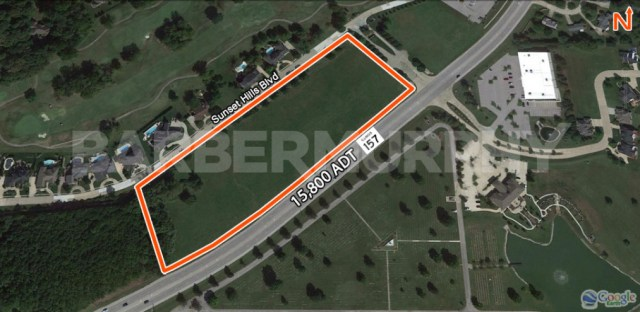 Site Map of 9 Acres for Sale on IL Route 157, Edwardsville, IL