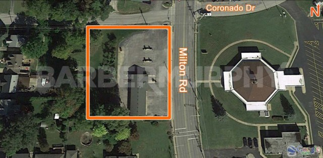 Site Map for Business Opportunity - Car Wash for Sale,  1020 Milton Rd, Alton, Illinois 62002, Madsion County