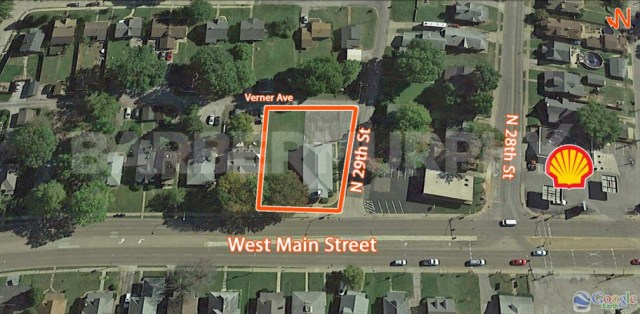 Site Map for Church for Sale, Kingdom Life Christian Ministries, 2901 West Main St, Belleville, Illinois 62226